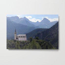 Swizerland landscape Metal Print
