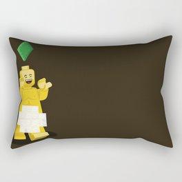 I want to brick free ! Rectangular Pillow