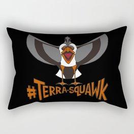 #TERRA-SQUAWK Rectangular Pillow