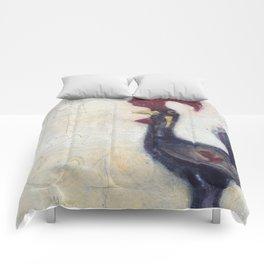 Gallo White Back Drop Comforters