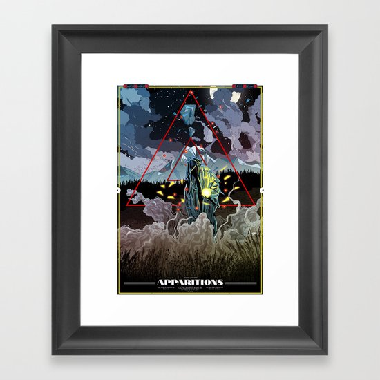 Apparitions Framed Art Print