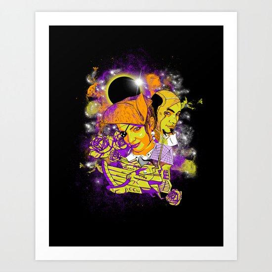 Space Pirates Art Print