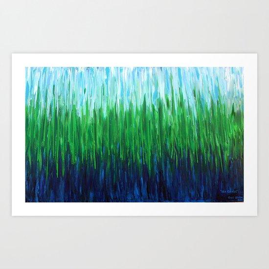 :: Sea Grass :: Art Print