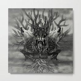 Odin -All-Father Metal Print