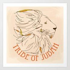 Judah Art Print