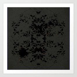 SYCAMORE STAMP SCRATCH  Art Print