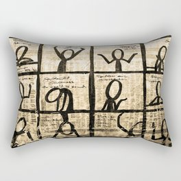 emotion Rectangular Pillow