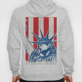 statue of liberty with torch Hoody