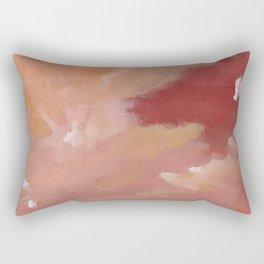 Next to the storm Rectangular Pillow