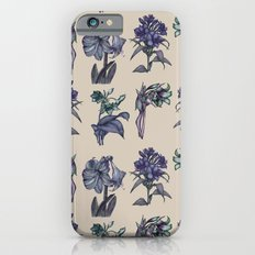Botanical Florals   Vintage Blueberry iPhone 6s Slim Case