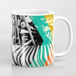 Tropical plant - hexagon Coffee Mug