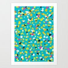 buttercups 1 Art Print