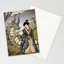 UKIYO-e Dragon Stationery Cards