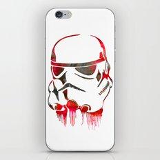 Storm Trooper Print iPhone & iPod Skin