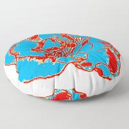 POPART Gardenia - Primaries Floor Pillow