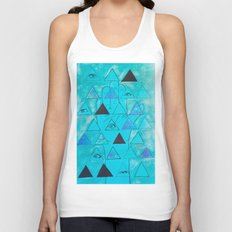 The Hand Sees All  Unisex Tank Top