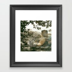 A Castle in Wales Framed Art Print