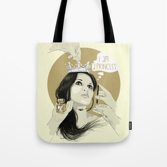 I am a princess Tote Bag