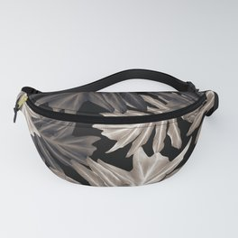 Philo Hope - Tropical Jungle Leaves Pattern #4 #tropical #decor #art #society6 Fanny Pack