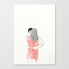 LOVER Canvas Print