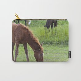 Wild Spanish mustang colt Carry-All Pouch