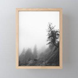 October fog Framed Mini Art Print