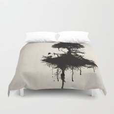 Last Tree Standing Duvet Cover