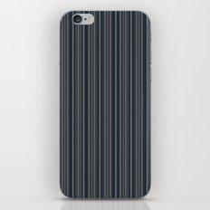 Steel Blue Double Stripes iPhone & iPod Skin