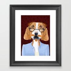 Mr. Retired Framed Art Print
