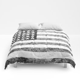 Grunge American Flag Comforters