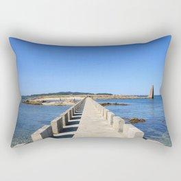 BRIDGE ON THE ATLANTIC SEA Rectangular Pillow