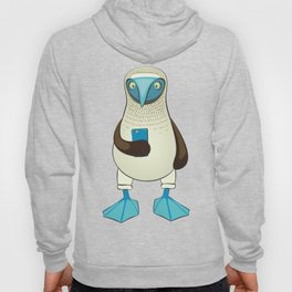Blue-footed Booby with Phone Hoody
