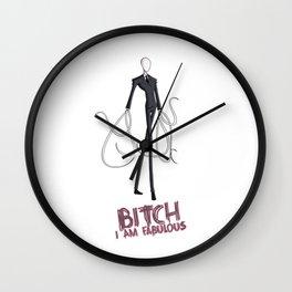 FABULOUS SLENDER MAN Wall Clock
