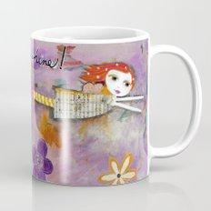 LIVE IN THE SUNSHINE, Fairy Art Mug