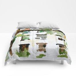 Brownstones and Tree Comforters