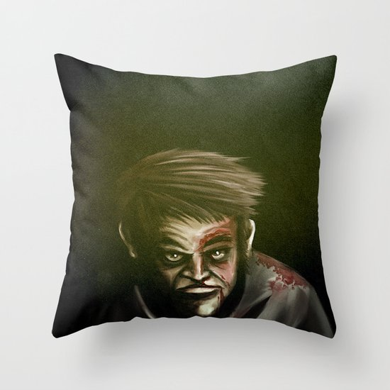I will not give up, ever. Throw Pillow