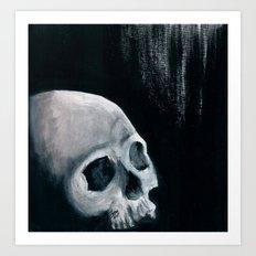 Bones XVI Art Print