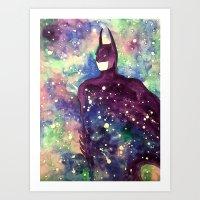 bat Art Prints featuring bat by Beth Jorgensen