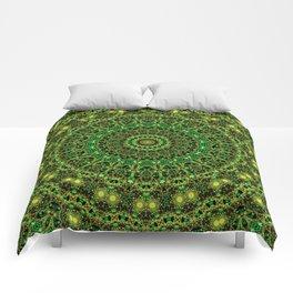 Forest Light Mandala Comforters