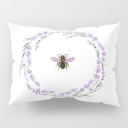 Lavender Bee Pillow Sham