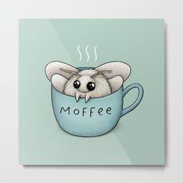 Moffee Metal Print
