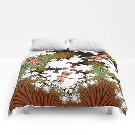Fall Dragonflies Comforters