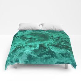 Malachite Dream #1 #gem #decor #art #society6 Comforters