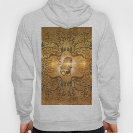 Music, microphone Hoody