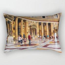 The Pantheon, Rome, Italy Rectangular Pillow