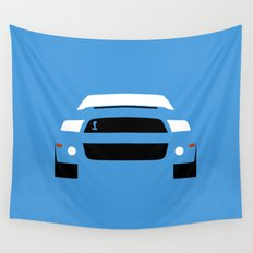 Ford Mustang Shelby GT500 ( 2013 ) Wall Tapestry