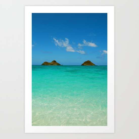Turquoise Waters Art Print