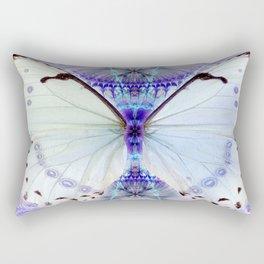 Lavender Lepidoptera Rectangular Pillow