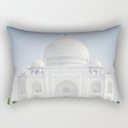 Taj Mahal Water Reflection Rectangular Pillow