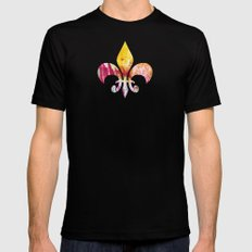 Fireworks - JUSTART MEDIUM Black Mens Fitted Tee